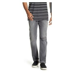 FRAME Gray Distressed L'Homme Slim | Size: 33